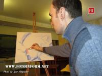 У Кропивницькому відбувся майстер-клас із створення картини