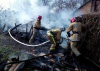 Кіровоградщина: на вул. Європейській виникла пожежа