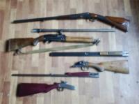 Понад 140 одиниць зброї мешканці Кіровоградщини здали до органів поліції