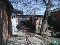 У Долинському районі пожежу гаража ліквідовано силами рятувальників