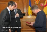 У Кропивницькому відомий журналіст отримав державну нагороду
