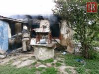 У Новомиргородському районі ліквідовано пожежу житлового будинку