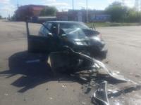 У Кропивницькому лоб в лоб зіткнулися дві автівки