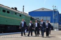 В'ячеслав Єрьомін оглянув господарства Херсонського залізничного вузла