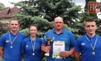 Кропивницький: спортсмени Службу порятунку здобули перемогу в змаганнях з легкоатлетичного кросу