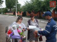 У житловому секторі села Оникієве відбувся рейд