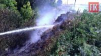 На Кіровоградщині за минулу добу сталось 8 пожеж в екосистемі