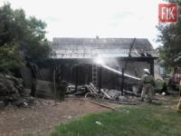 На Кіровоградщині ліквідовано 3 пожежі господарчих будівель