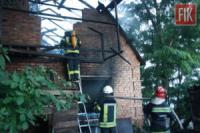 У Кропивницькому рятувальники приборкали пожежу житлового будинку