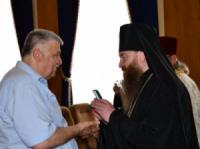 На Кіровоградщині поліцейські отримали нагороди від духовенства
