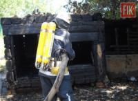 У Новгородківському районі рятувальники приборкали пожежу