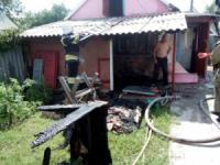 На Кіровоградщині сталось 3 пожежі на території приватних домоволодінь