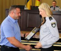 У Кропивницькому працівники поліції області отримали нагороди