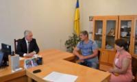 У Кропивницькому Сергій Коваленко провів особистий прийом громадян