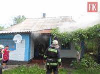 На Кіровоградщині приборкали 2 пожежі житлових будинків