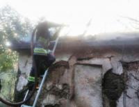На Кіровоградщині рятувальники приборкали 6 пожеж в будівлях різного призначення