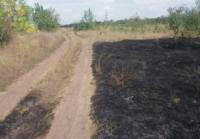 На Кіровоградщині виникло 9 пожеж сухої рослинності та сміття