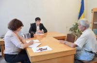 У Кропивницькому Сергій Кузьменко провів особистий прийом громадян