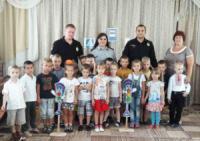 На Кіровоградщині поліцейські навчали дітей правилам поведінки на дорозі