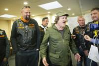 Рок-звезду Zucchero в аэропорту растрогали украинские байкеры