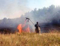 На Кіровоградщині вогнеборці 7 разів виїздили на гасіння пожеж в екосистемах