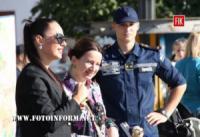 У Кропивницькому рятувальники відзначили професійне свято День рятівника та День міста