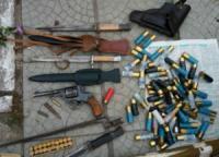 У жителів Кіровоградщини поліцейські виявили зброю та боєприпаси