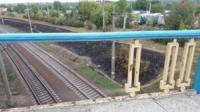 У Кропивницькому серед білого дня розібрали огорожу на мосту