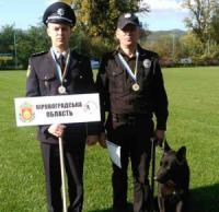 Кіровоградські поліцейські взяли участь у чемпіонаті з багатоборства кінологів