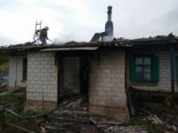 На Кіровоградщині під час пожежі травмовано власника житлового будинку