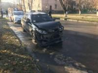 У Кропивницькому на одному місці сталося кілька ДТП