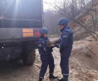На узбіччі траси Кропивницький-Аджамка виявили боєприпаси