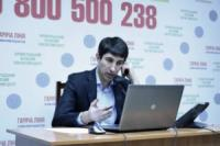 Сергій Кузьменко приймав дзвінки на «гарячій телефонній лінії»