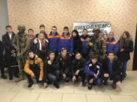 За підтримки Сергія Кузьменка старшокласники Кіровоградщини завітали на прем' єру «Кіборгів»