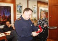 У Кропивницькому Віталій Миронюк привітав Миколу Гуньку з перемогою у міжнародних змаганнях