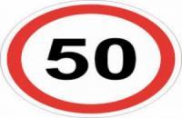 Від 1 січня швидкість авто в населених пунктах обмежується до 50 кілометрів на годину