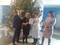 У Кропивницькому дитяча лікарня отримала новорічний подарунок