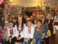 У Кропивницькому бібліотекарі організували свят-вечір