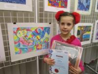 У Кропивницькому відкрито виставку дитячих малюнків