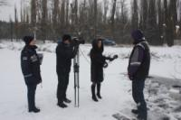 Кропивницький: рятувальники спільно з представниками обласного телебачення провели профілактичний рейд