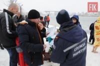 На Кіровоградщині пильнували,  щоб свято Водохреща пройшло без надзвичайних ситуацій