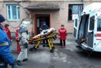 На Кіровоградщині рятувальники надали допомогу по порятунку хворої літної жінки