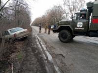 Кіровоградська область: рятувальники тричі надавали допомогу водіям авто