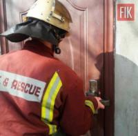 У Світловодську рятувальники допомогли відкрити двері квартири,  де перебував літній чоловік