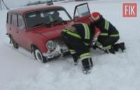 На Кіровоградщині рятувальники 59 разів залучались до надання допомоги на автошляхах