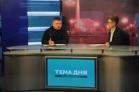 Кропивницький: на обласному телебаченні розповіли про участь рятувальників у подоланні наслідків негоди