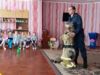 У Світловодську для дошкільнят рятувальники провели акцію