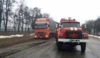 Кіровоградська область: рятувальники надали допомогу по буксируванню водіям транспортних засобів