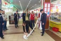 У Кропивницькому розпочато інспектування стану пожежної безпеки гіпермаркету «Велмарт»