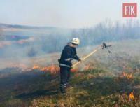 Рятувальники Кіровоградщини ліквідували 6 пожеж у екосистемах області